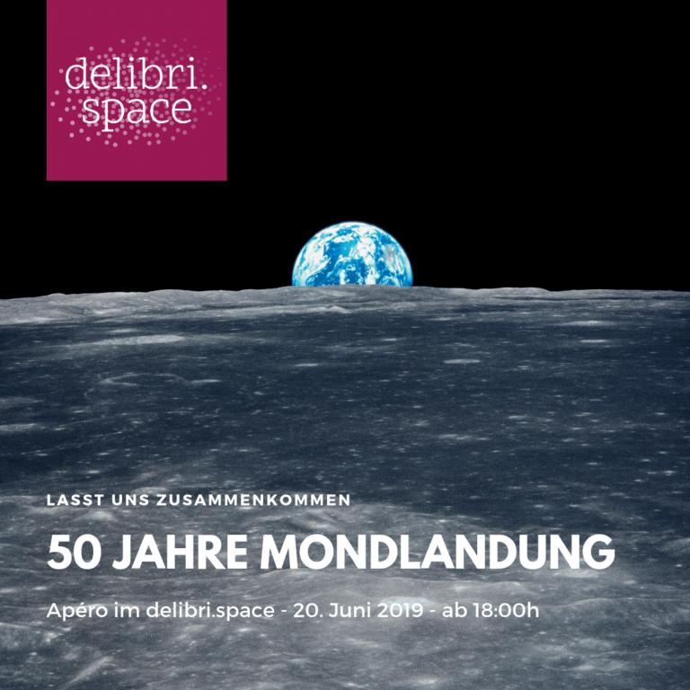 50 Jahre Mondlandung – Themenschwerpunkt im delibri.space