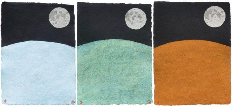 """""""Mondzyklus"""" von Insieme im delibri.space"""