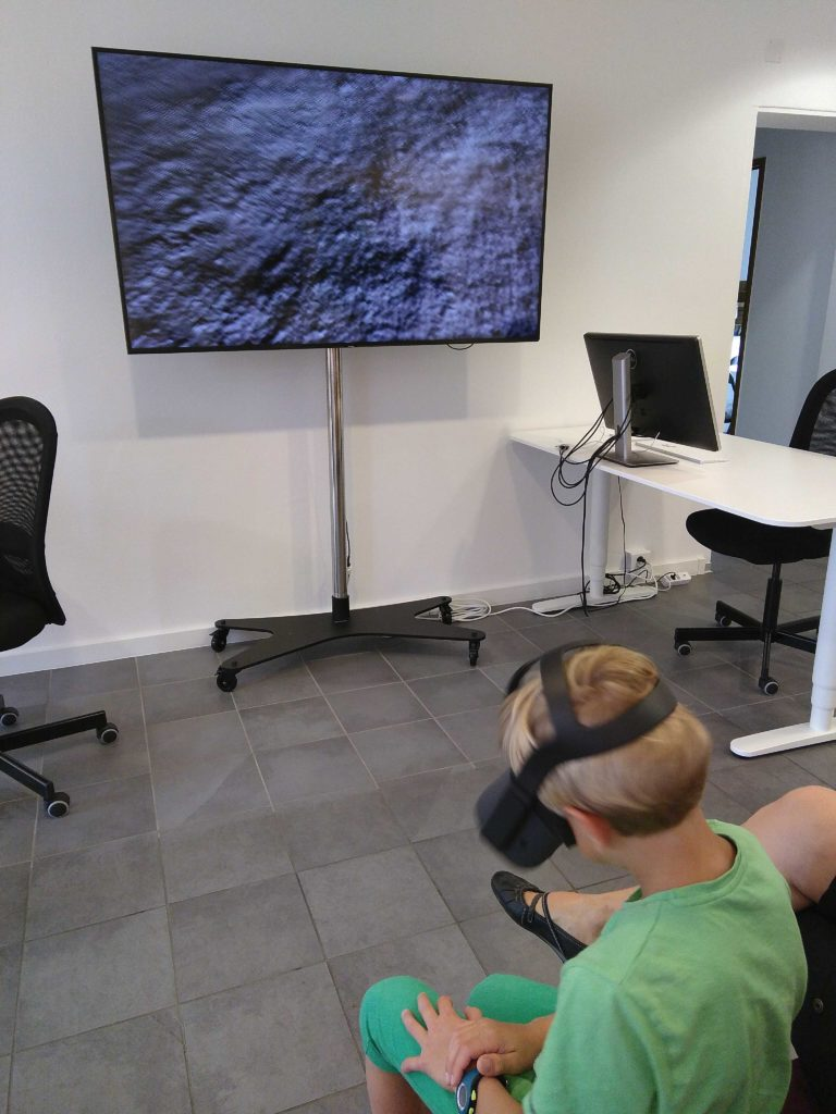 Mit VR-System auf dem Mond landen